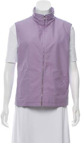 Loro Piana Collared Zippered Vest