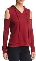 Honey Punch Cold-Shoulder Hooded Sweatshirt - 100% Exclusive