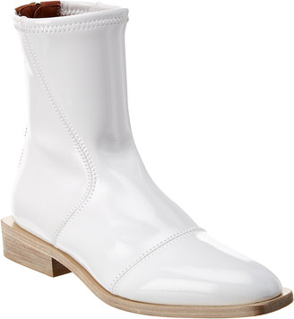 Fendi Glossy Ankle Boot