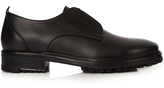 Lanvin Elasticated-front leather derby shoes