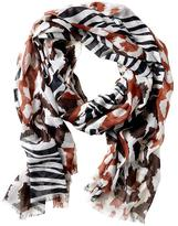 Issa Collection Animal Print Scarf