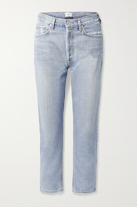 Citizens of Humanity - Charlotte High-rise Straight-leg Jeans - Blue
