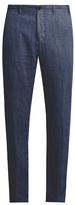 J.w.brine J.W. BRINE Mike straight-leg linen trousers