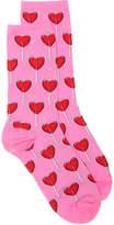 Hot Sox Heart Lollipop Crew Socks - Women's