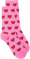 Hot Sox Women's Heart Lollipop Women's Crew Socks
