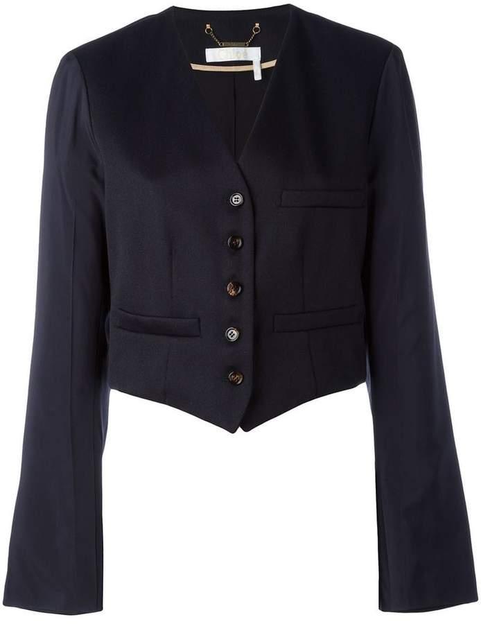 Chloé cropped blazer