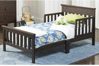 Fisher-Price Newbury Toddler Bed Bed Frame Color: Espresso