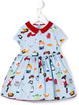 Simonetta cooks print dress