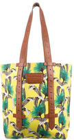 Proenza Schouler Leather-Accented Printed Tote