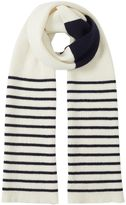 Jigsaw Islay Breton Stripe Knit Scarf