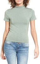Obey Women's Front Street Mock Neck Top