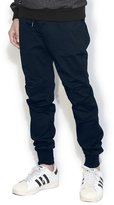 OCHENTA Men's Tapered Fit Active Basic Banded Ankle Jogger Pants Camo