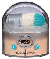 Physicians Formula Mineral Wear Talc Free Illuminating Powder Duo, Natural/Beige, 0.35 Ounce