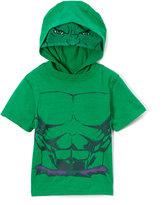Children's Apparel Network Avengers Green Hoodie - Toddler