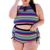 WINSON Sexy Women Plus Size Bikini Set Swimwear Bathing Swimsuit Beach L-Xxxl