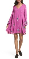 Free People Women's Embroidered Minidress