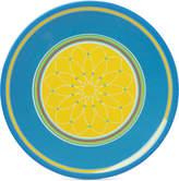 Dansk Cabana Stripe Blue Melamine Salad Plate