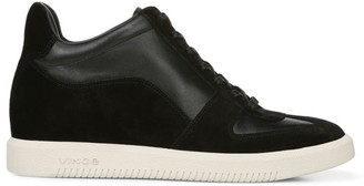 Vince Ina Suede & Leather Sneakers