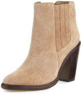Joie Cloee Suede Ankle Boot, Deep Olive