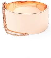 Rebecca Minkoff Women's Cuff With Chain Bracelet