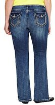 JCPenney a.n.a® Thick Stitch Bootcut Jeans- Plus