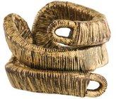 Saint Laurent Textured Coil Ring