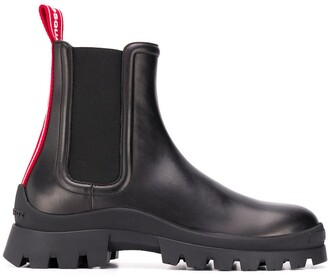 DSQUARED2 logo-tape Chelsea boots