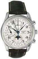 Longines Master Collection Chronograph Automatic Moon face Transparent Case Back Men's Watch