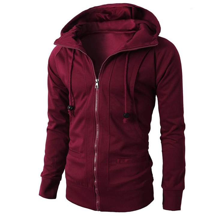 3d739bb281221 Autumn Winter Casual Solid Tops Jacket Coat Outwear Realdo Mens Hooded  Sweatshirt Clothing, Shoes & Jewelry Shirts