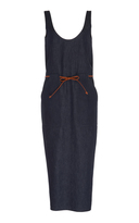 Martin Grant Belted Denim Dress
