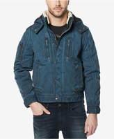 Buffalo David Bitton Men's Fleece-Lined Hooded Jacket