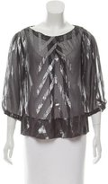 By Malene Birger Printed Long Sleeve Top