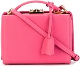 Mark Cross Small Pebbled Grace Box Bag - Pink