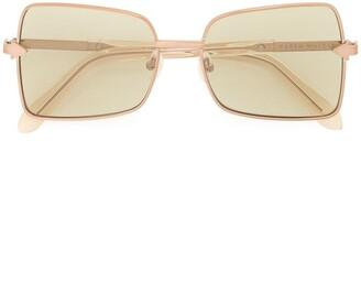 Karen Walker Wisdom square-frame sunglasses