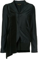 Comme des Garcons Pre Owned asymmetric fitted blazer