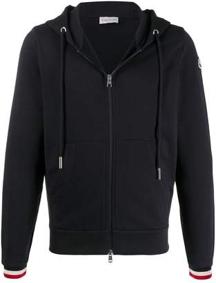 Moncler cotton zip-up hoodie