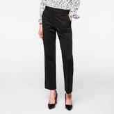 Paul Smith Women's Slim-Fit Black Stretch-Cotton Chinos