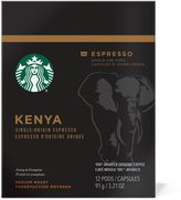 Starbucks VerismoTM 12-Count Kenya Single Origin Espresso Pods