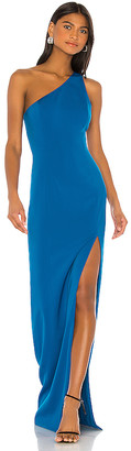 Jay Godfrey Dixie One Shoulder Gown