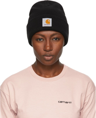 Carhartt Work In Progress Black Short Watch Beanie