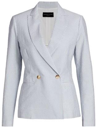 Womens Seersucker Jacket Shopstyle