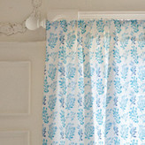 Minted Blue Flora Curtains