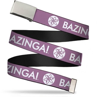 Buckle Down Buckle-Down Unisex-Adults Web Belt the Big Bang Theory1.25
