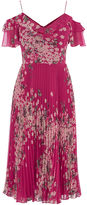 Oasis Kimono Pleated Midi Dress