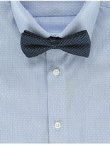 Autograph Pure Silk Waffle Textured Bow Tie