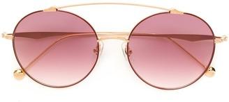 Matsuda Gradient Round Sunglasses