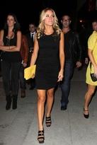 LnA Gathered Brenda Dress in Black