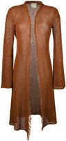 Forte Forte longline cardigan - women - Cotton/Linen/Flax - III