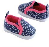 Osh Kosh Baby Girl Floral Slip-On Crib Shoes