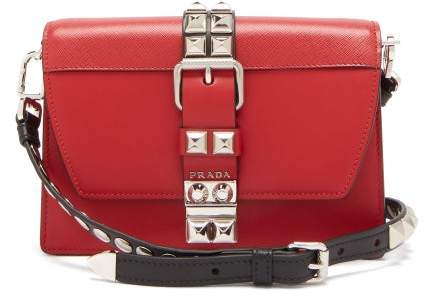 6fc308f56958 Prada Red Shoulder Bags - ShopStyle